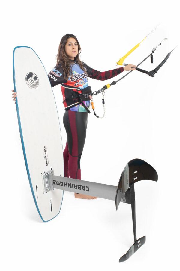 Curso-kitesurf-hydrofoil-en-galicia
